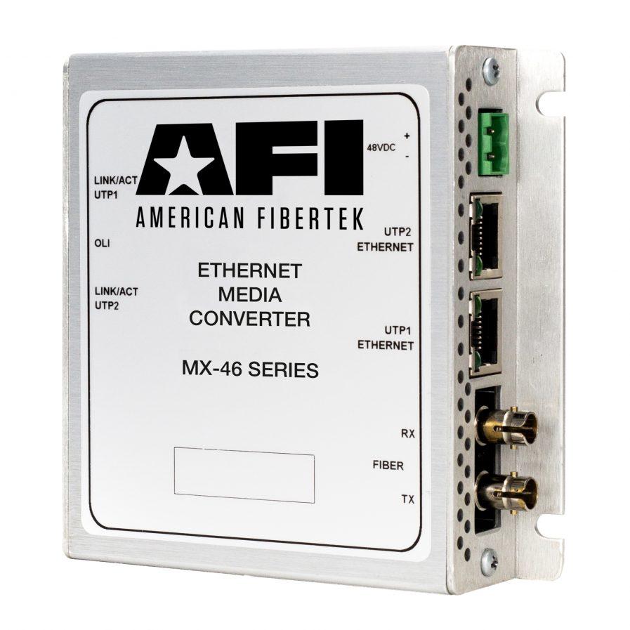 American Fibertek MX-46 IP Media Converter Series