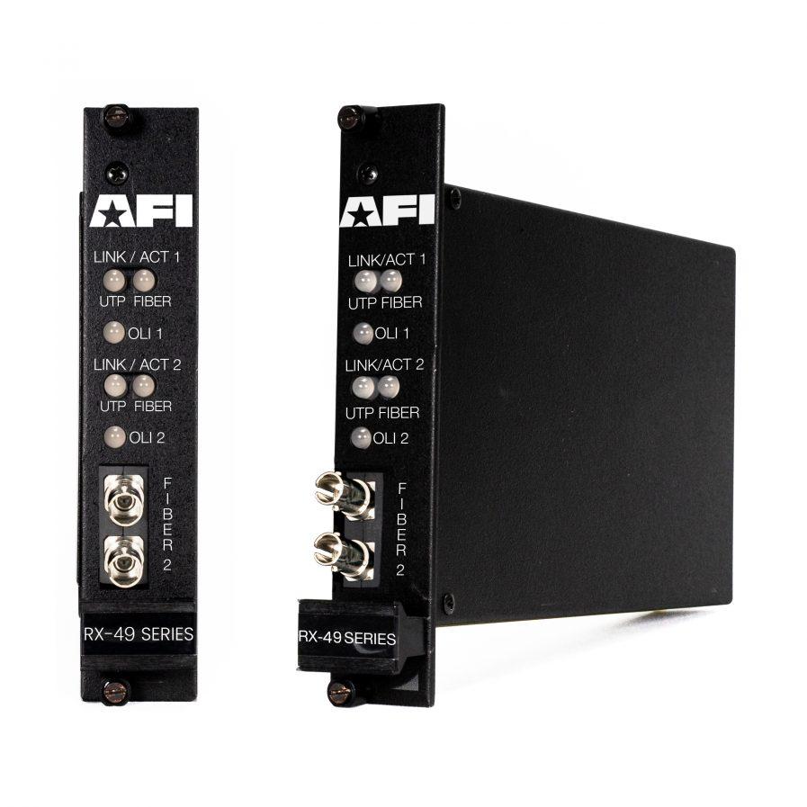 American Fibertek RX-49 IP Media Converter Series.
