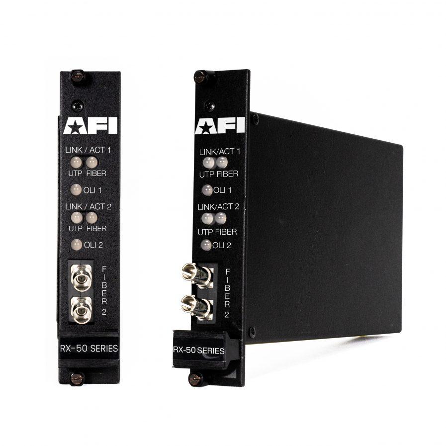 American Fibertek RX-50 IP Media Converter Series.