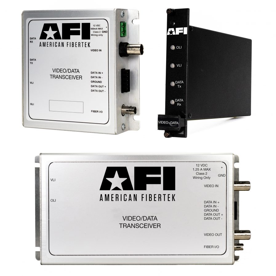 American Fibertek offers a wide range of analog video and data security solutions to transmit and receive information on a closed analog circuit.