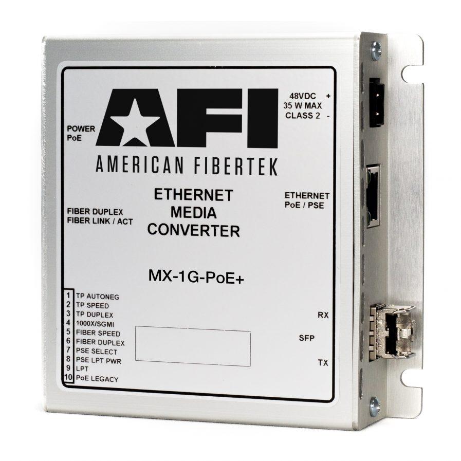 American Fibertek MX-1G Media Converter Series.