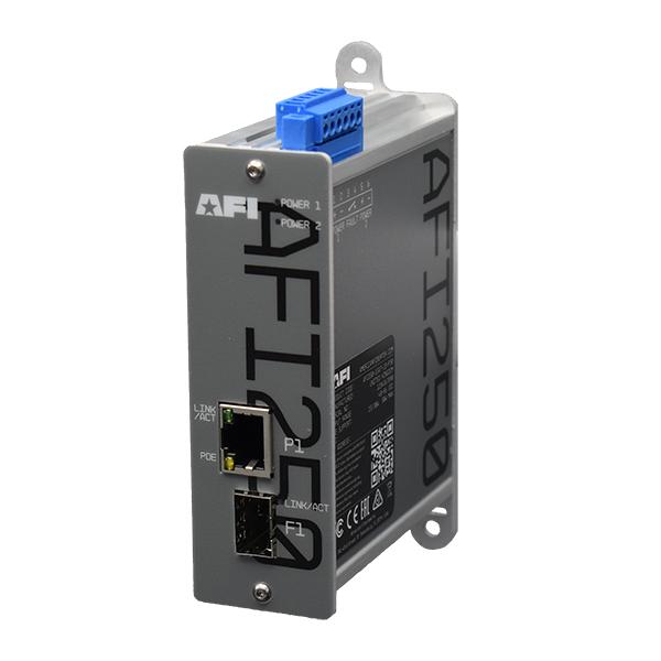 American Fibertek 250 Series: Open SFP Media Converter Series.